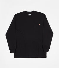 Dickies Long Sleeve Pocket T-Shirt - Black