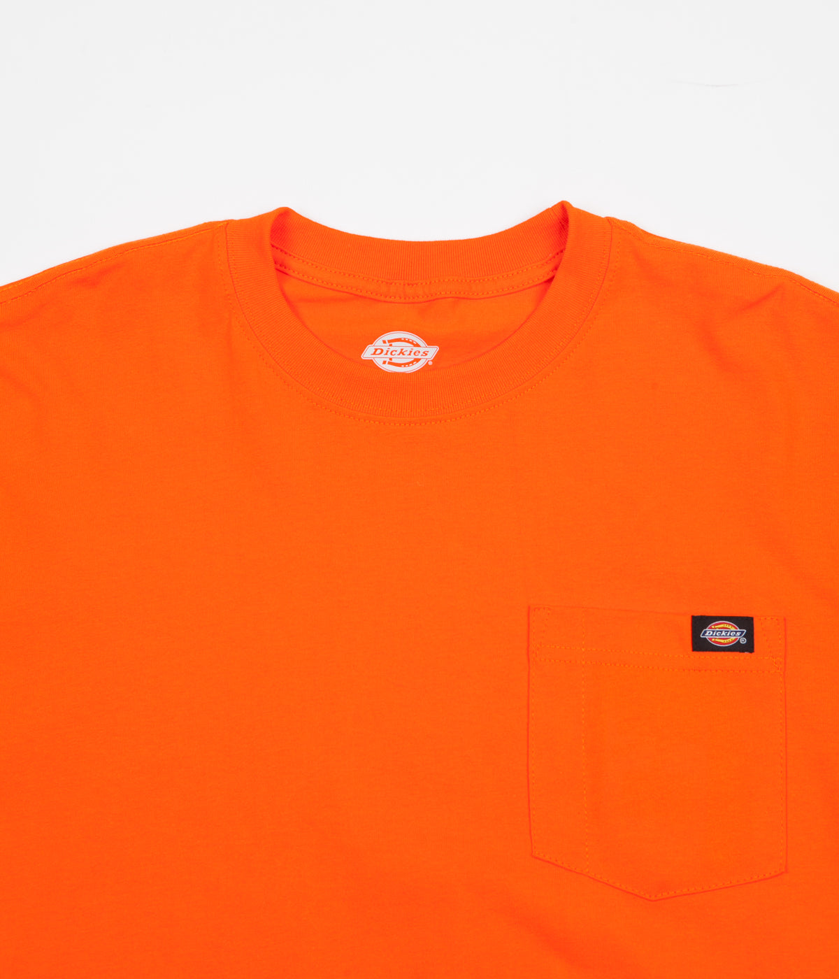 Dickies Long Sleeve Pocket T-Shirt - Orange
