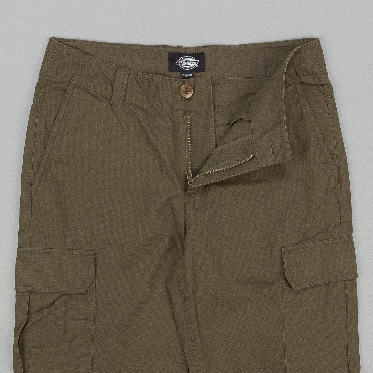 Dickies New York Cargo Trousers - Dark Olive