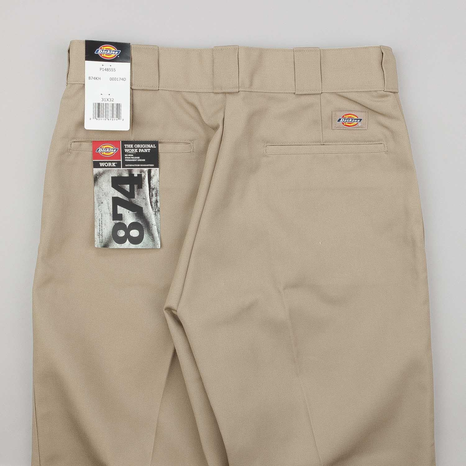 Dickies Original 874 Work Trousers - Khaki
