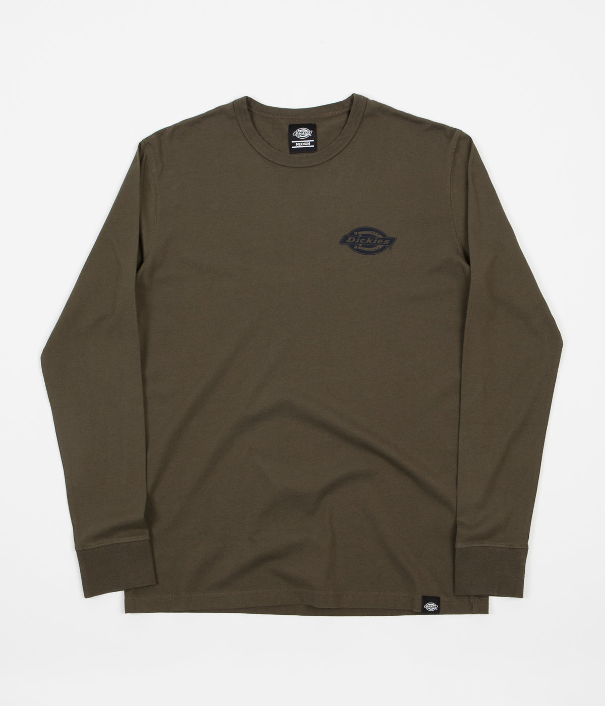 Dickies Pipersville Long Sleeve T-Shirt - Dark Olive