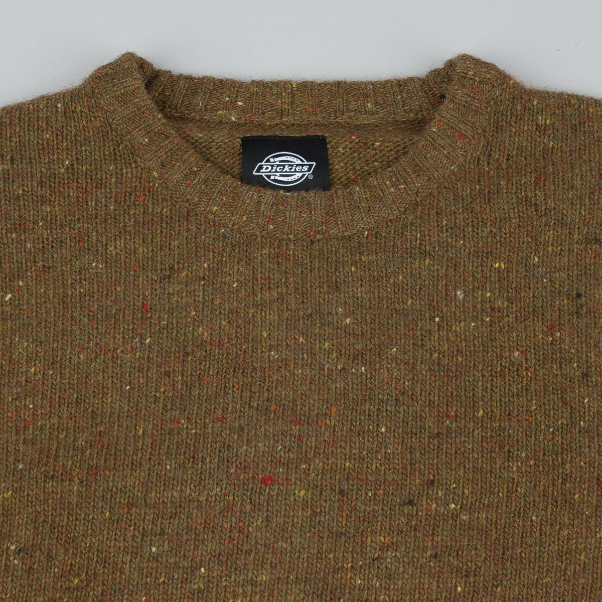 Dickies Rosendale Knitted Sweatshirt - Green