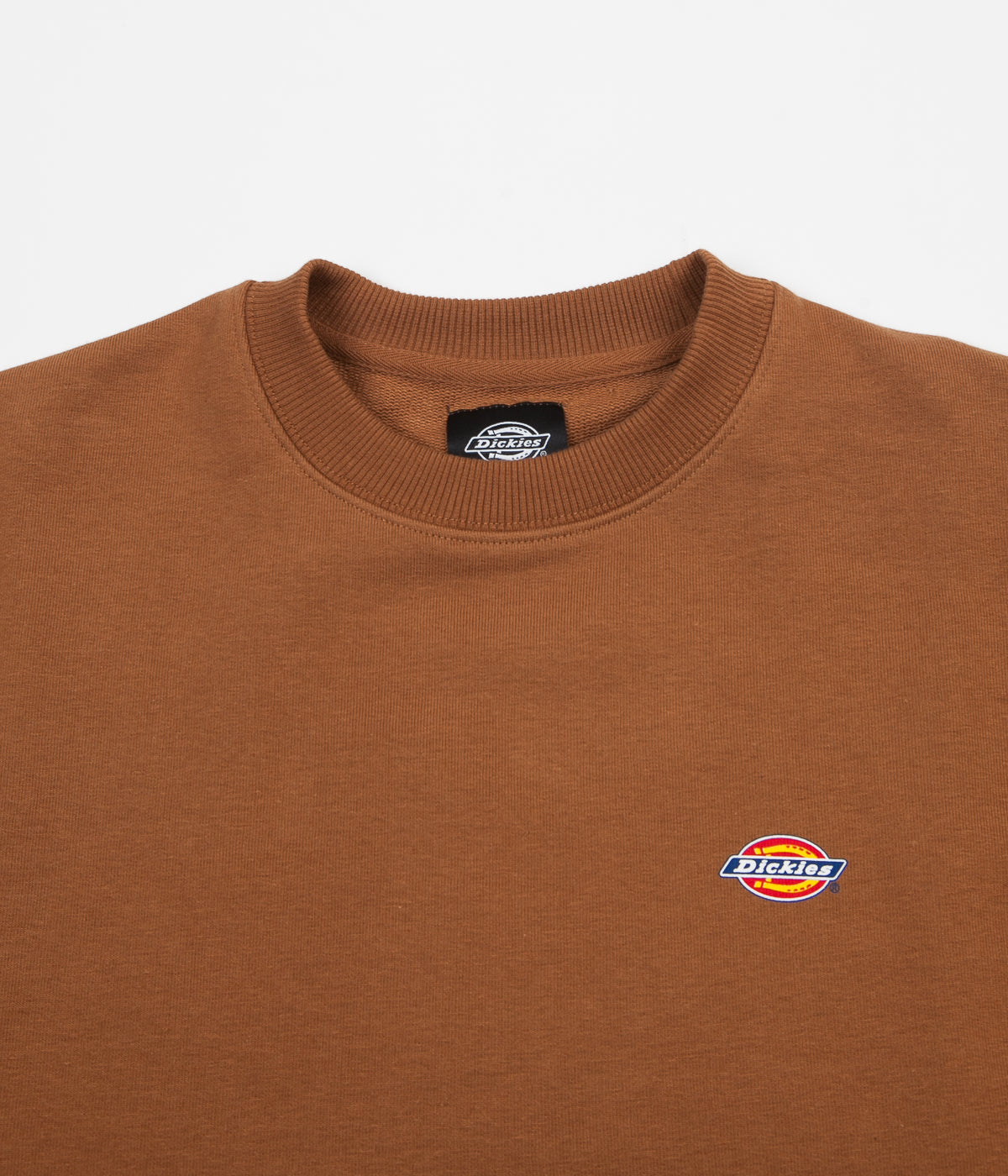 Dickies Seabrook Crewneck Sweatshirt - Brown Duck