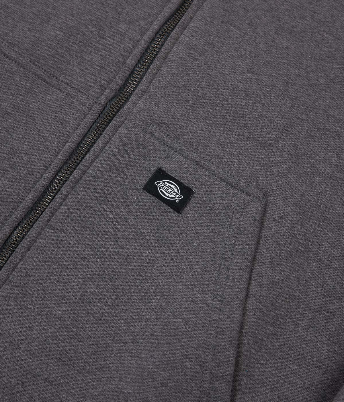 Dickies Sherpa Fleece Jacket - Dark Heather Grey
