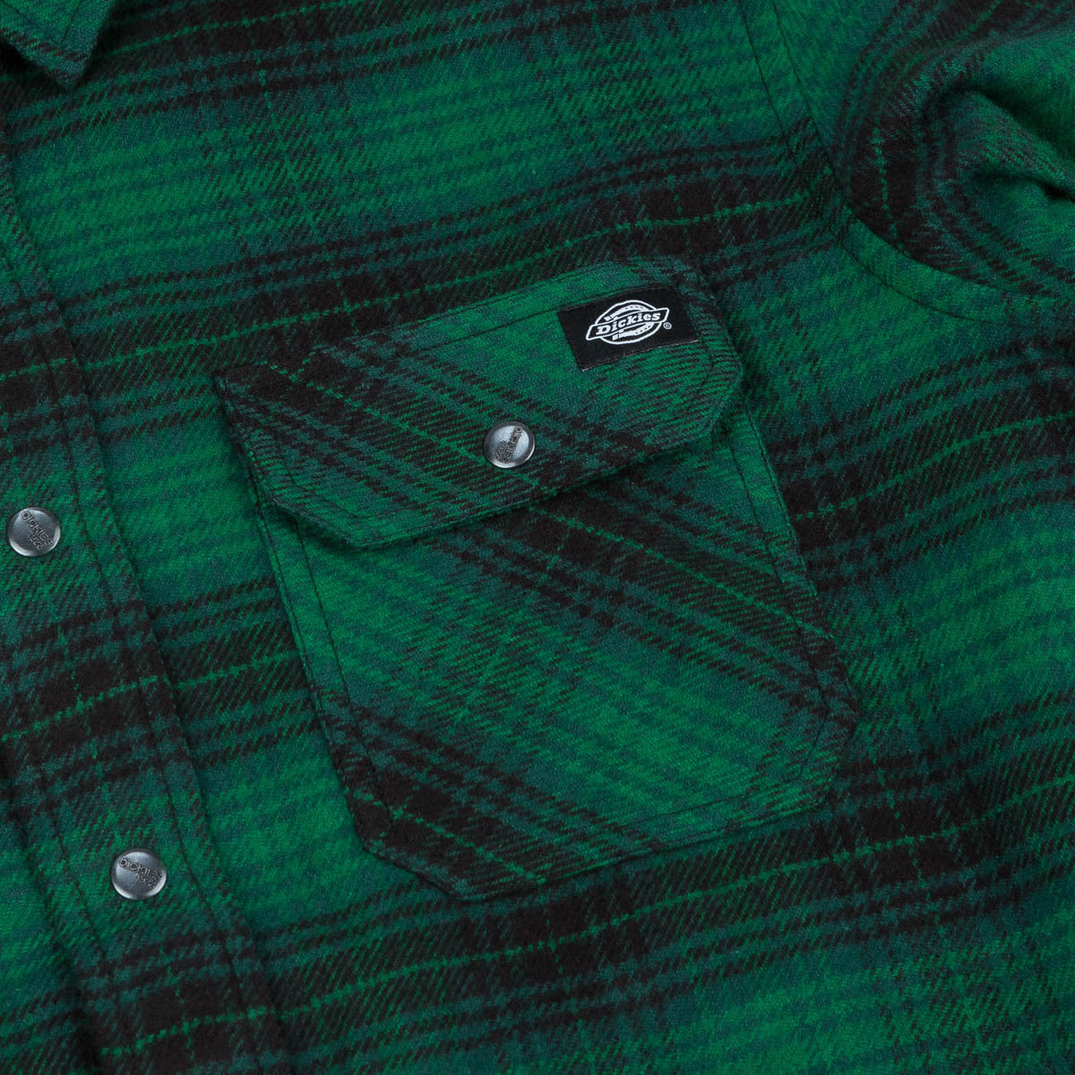 Dickies Sunfield Shirt - Pine Green