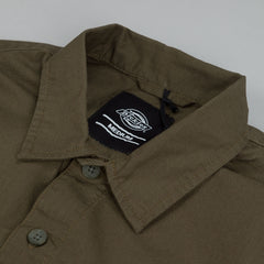 Dickies Tallahassee Long Sleeve Shirt - Dark Olive