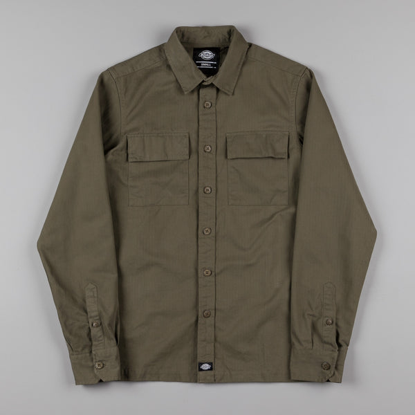 Dickies Tunnelton Shirt - Dark Olive