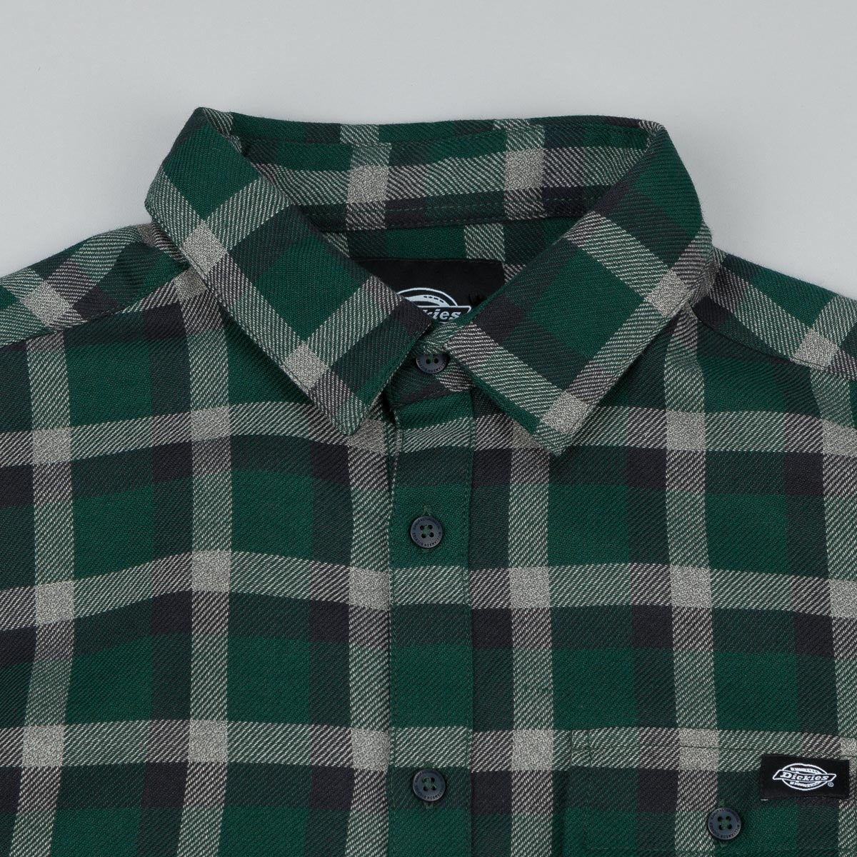 Dickies Woodford Long Sleeve Shirt - Green