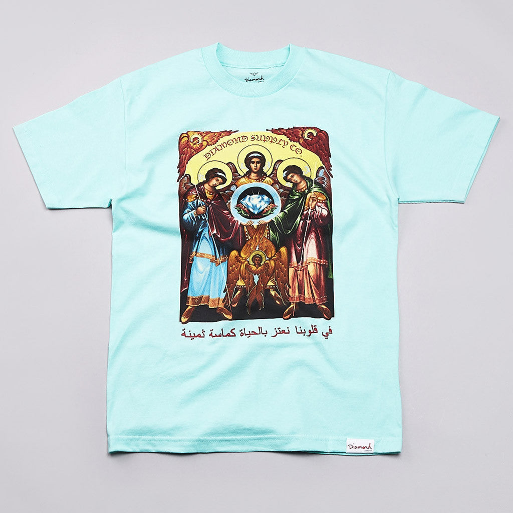 Diamond Archangel T Shirt Diamond Blue