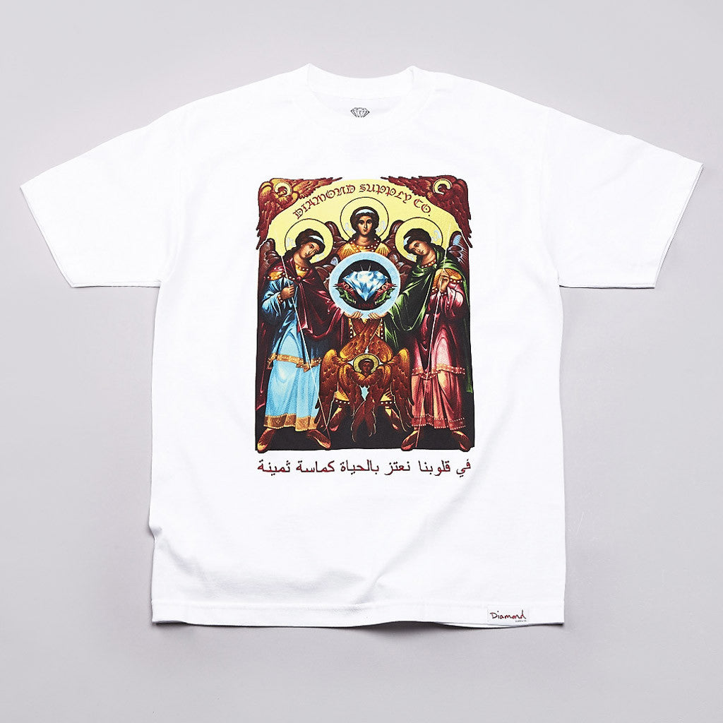 Diamond Archangel T Shirt White