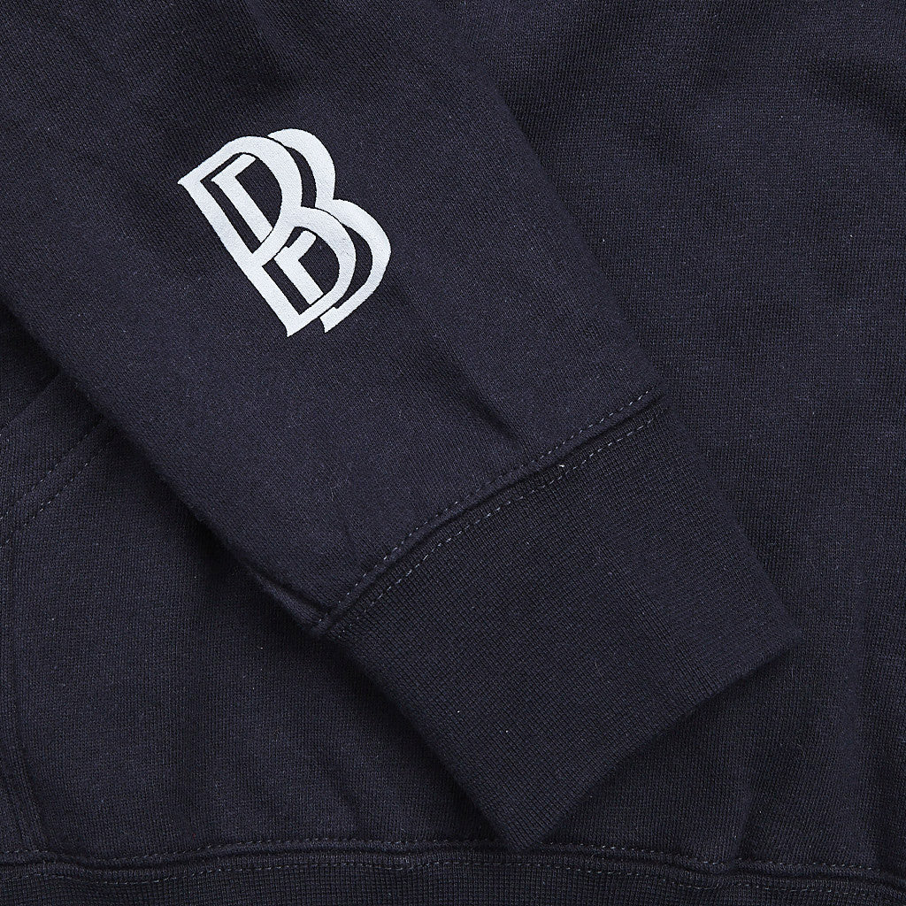 Diamond Ben Baller Unpolo Hooded Sweatshirt Navy