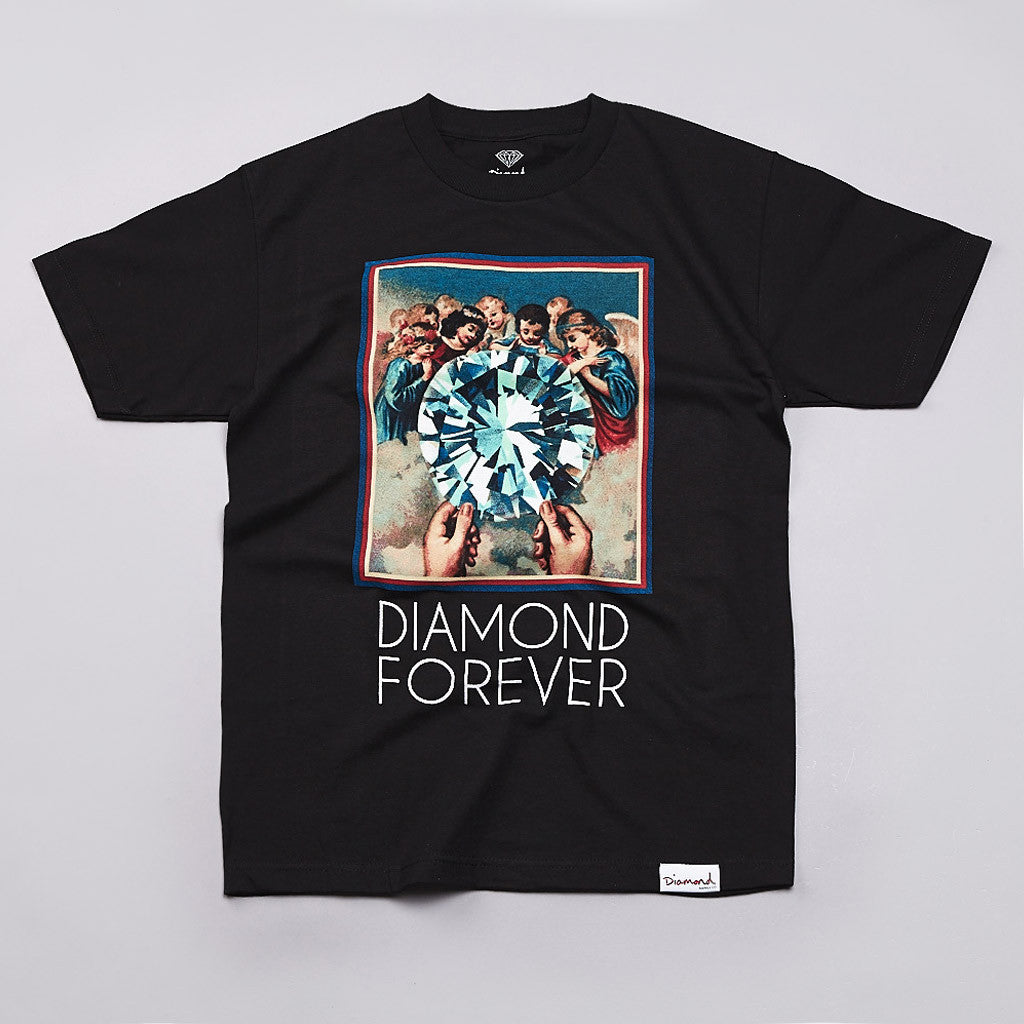 Diamond Forever T Shirt Black