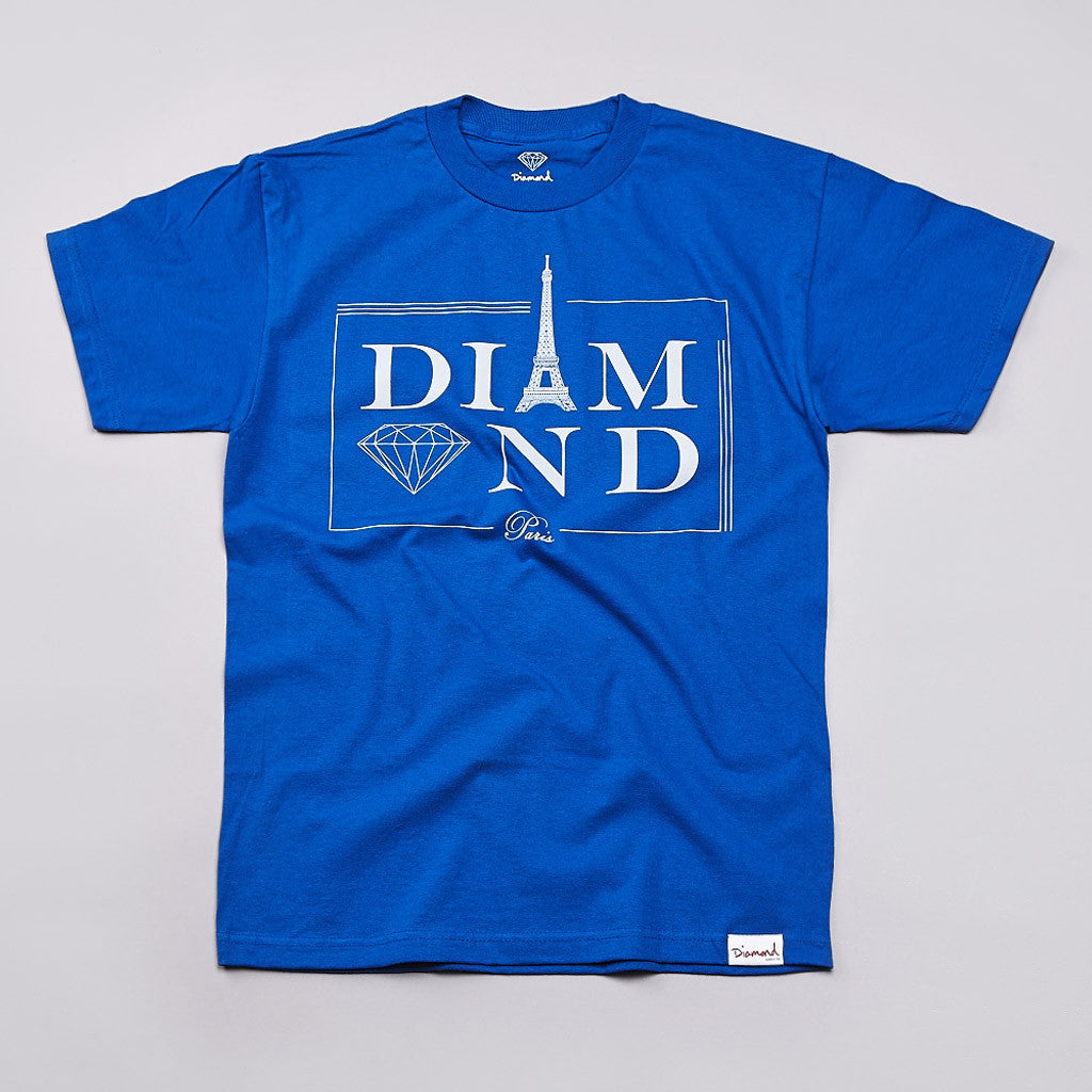 Diamond Paris T Shirt Royal