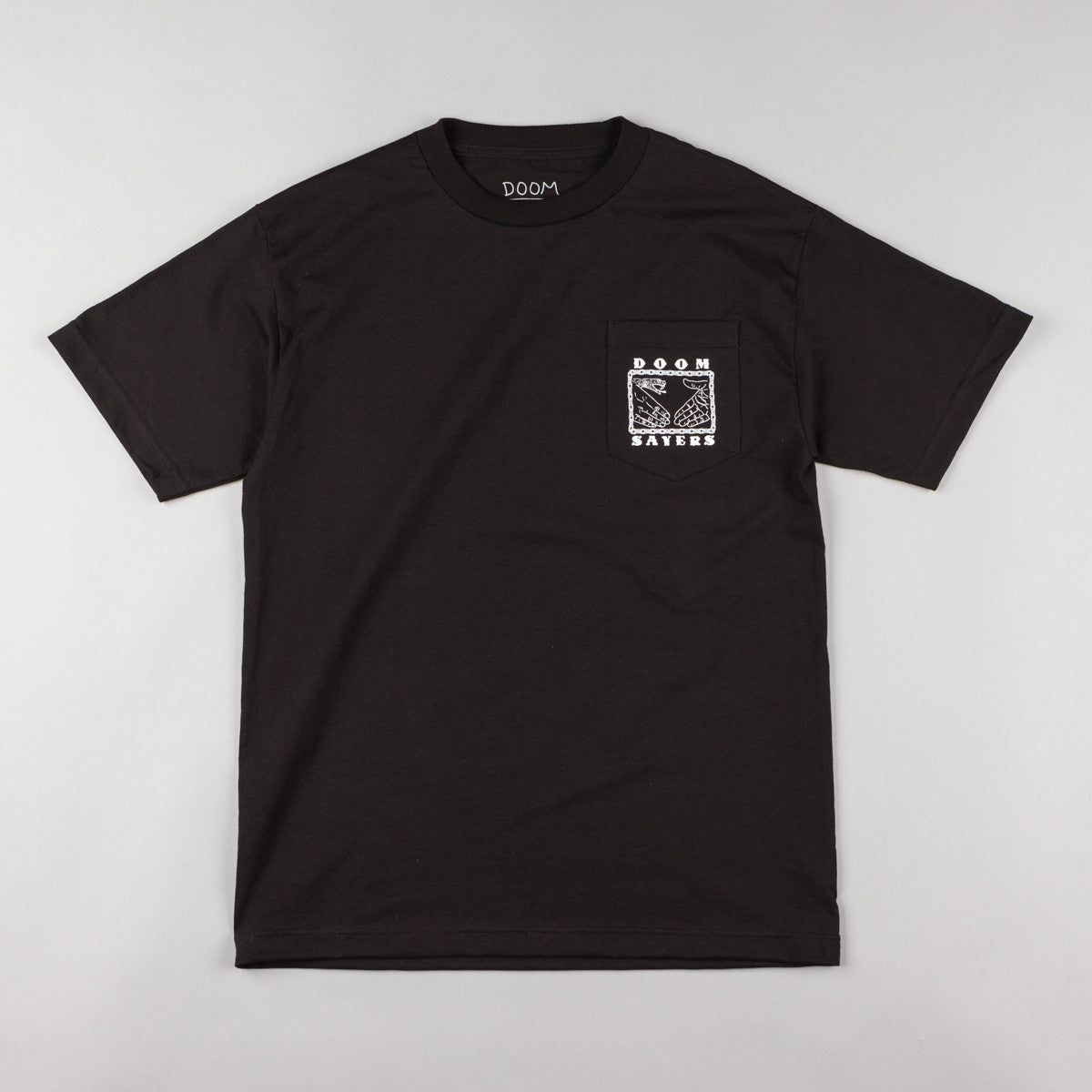 Doom Sayers Chain Pocket T-Shirt - Black