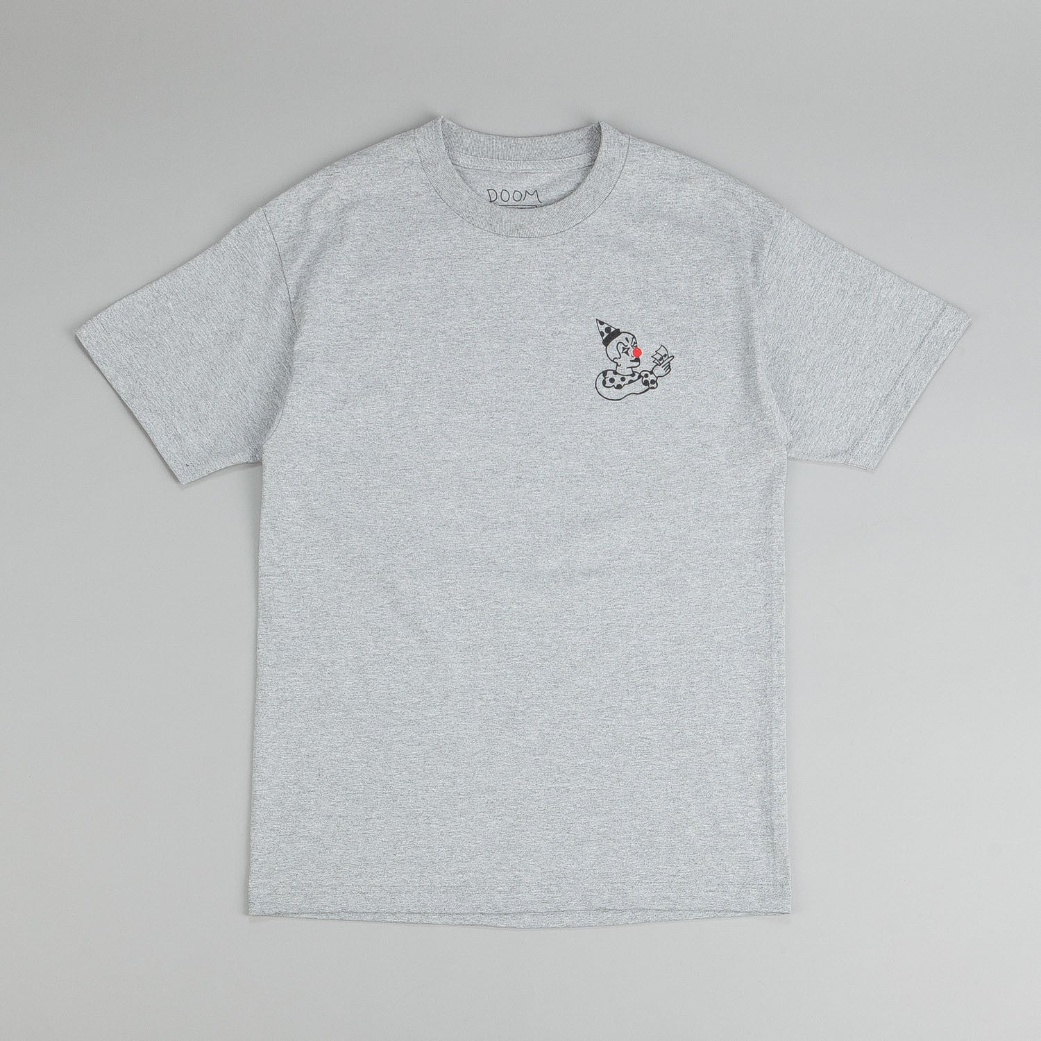 Doom Sayers Clown T-Shirt Heather Grey