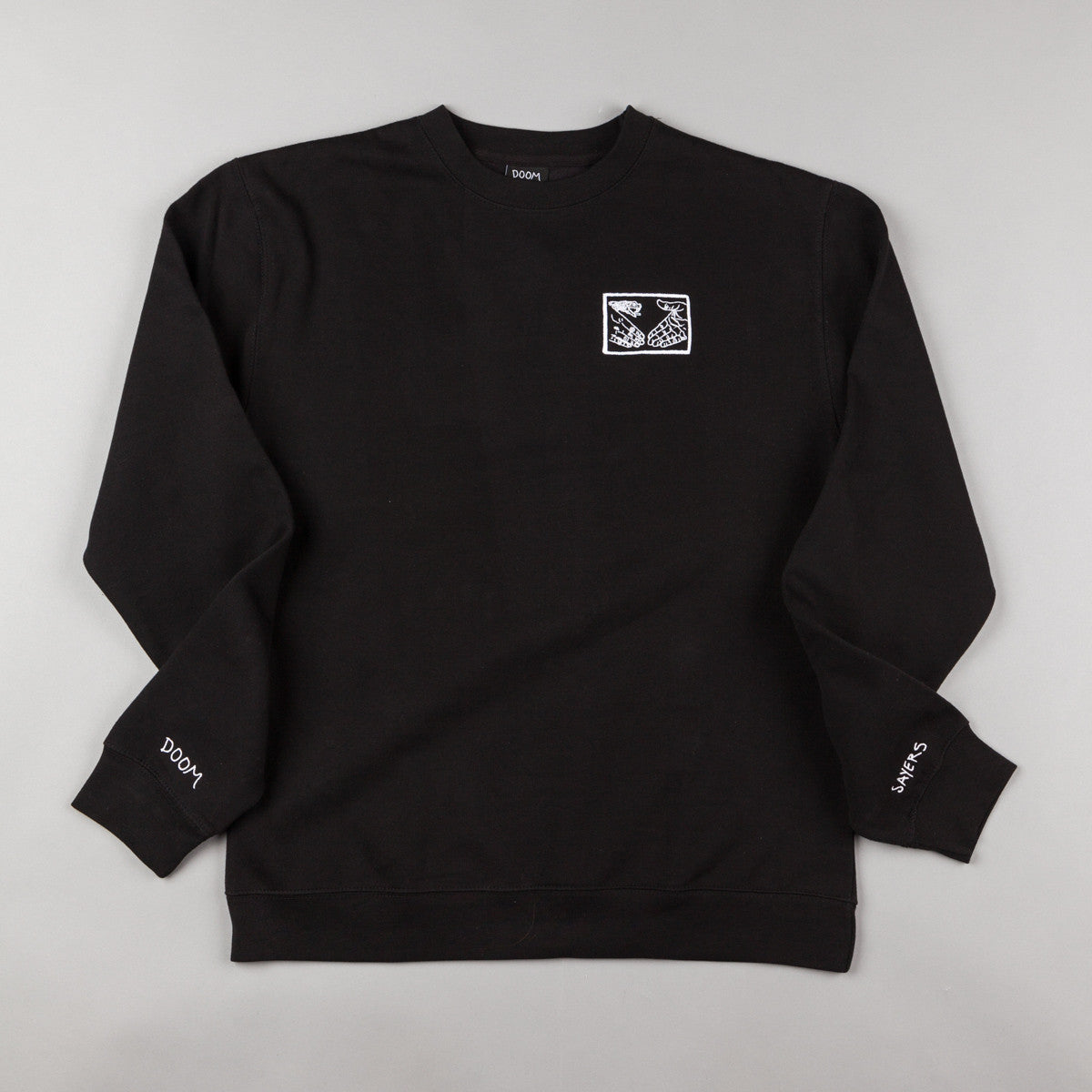 Doom Sayers Snake Shake Crewneck Sweatshirt - Black
