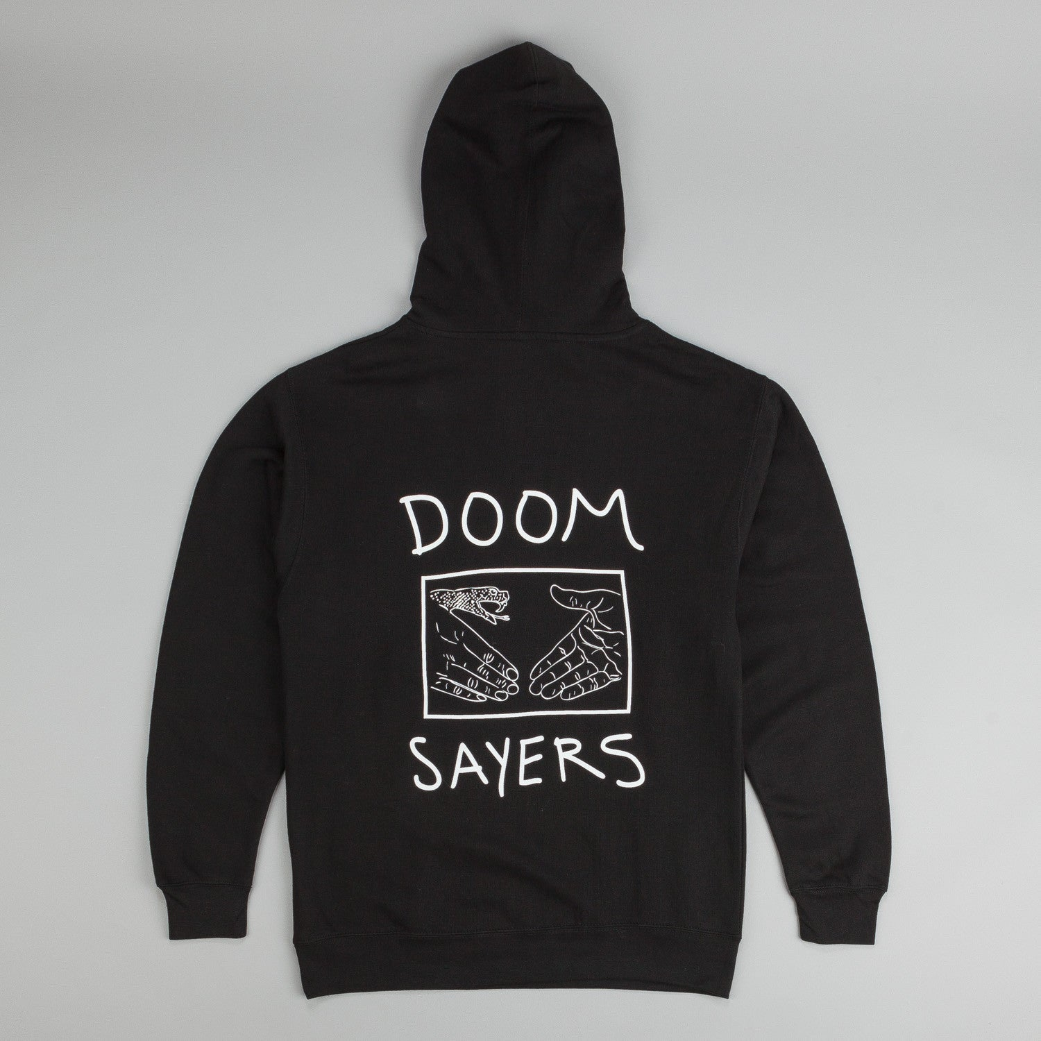 Doom Sayers Snake Shake Hooded Sweatshirt Black