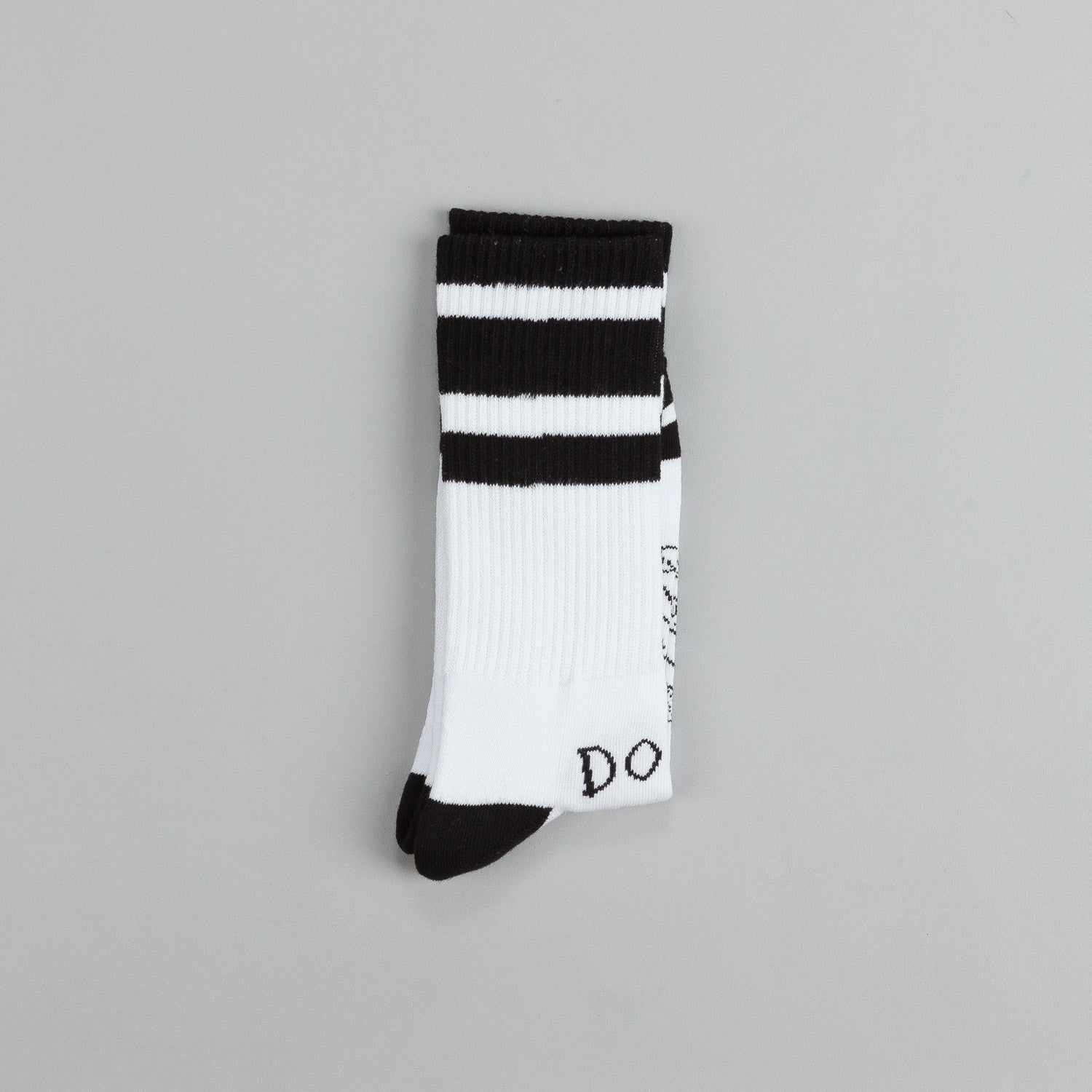 Doom Sayers Snake Shake Socks White