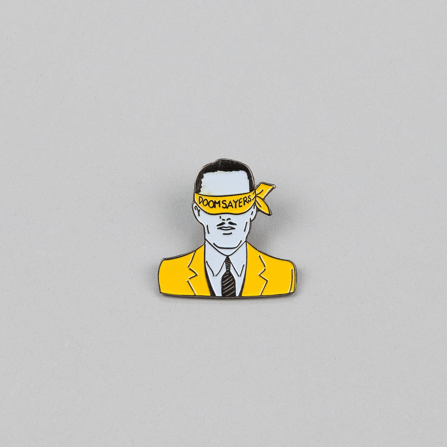 Doomsayers Corp Guy Lapel Pin