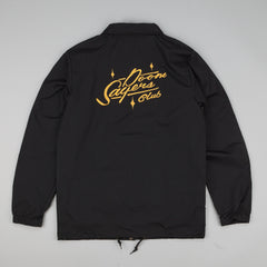 Doomsayers Nylon Custom Coach Jacket Black