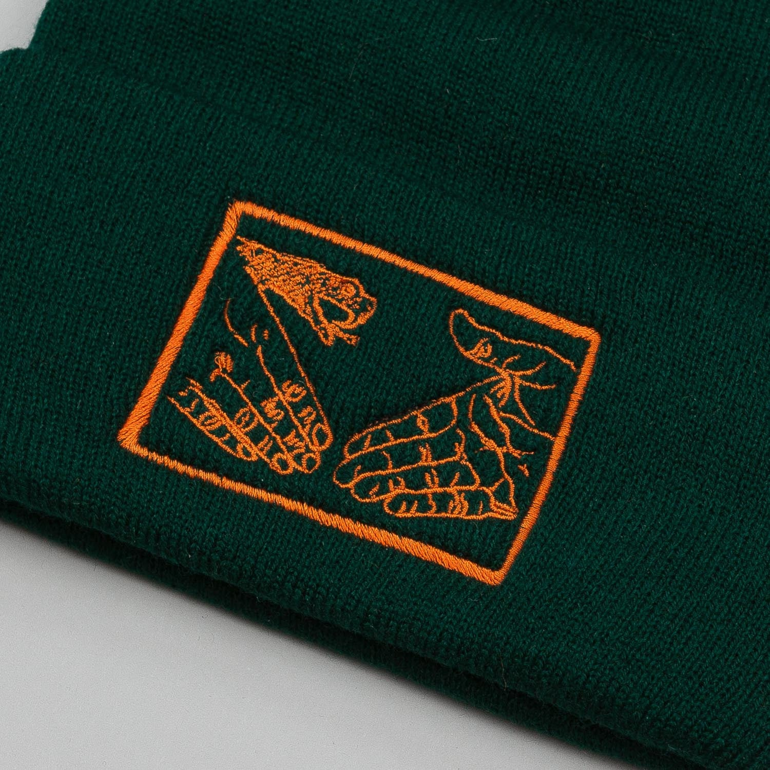 Doomsayers Snake Shake Beanie - Hunter Green