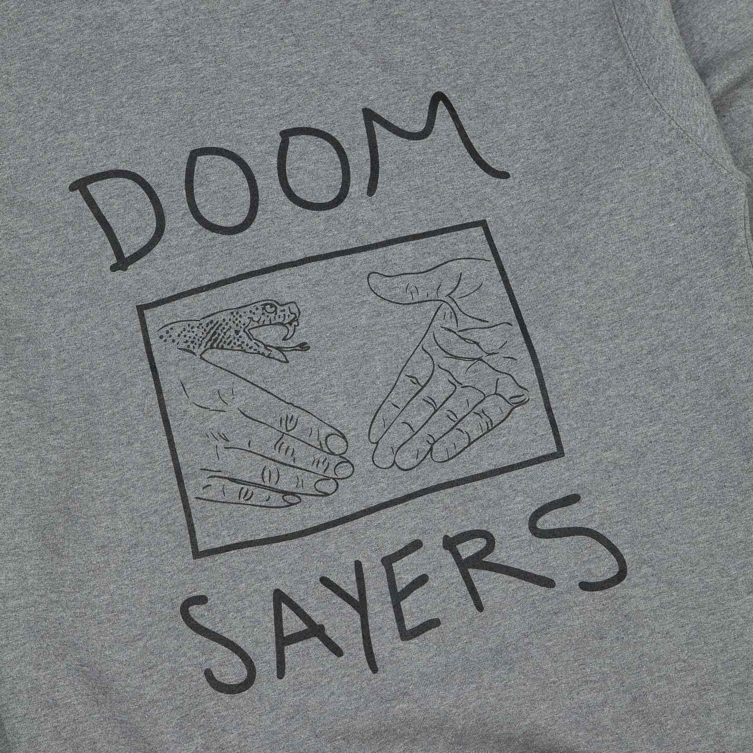 Doomsayers Snake Shake Hooded Sweatshirt - Grey