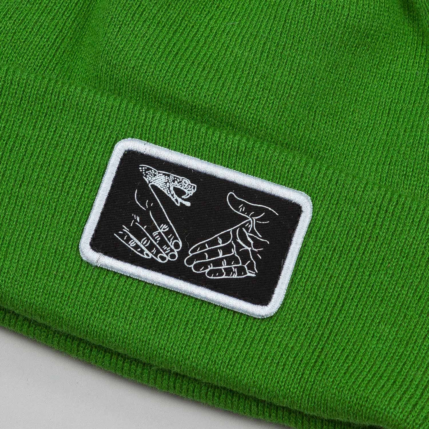 Doom Sayers Snake Shake Patch Beanie - Green