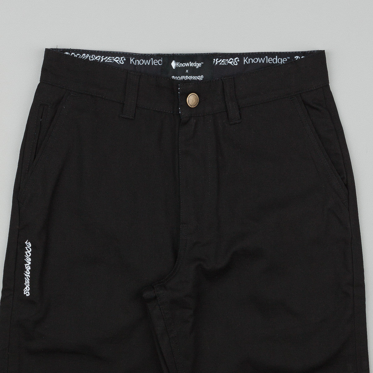 Doom Sayers X Know1edge Stranger Trousers - Black