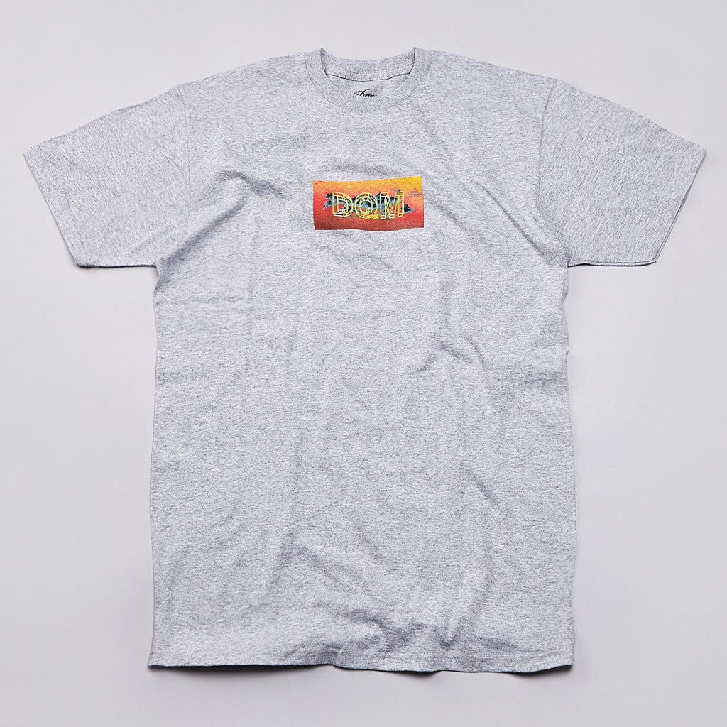 DQM 101 T Shirt Heather Grey