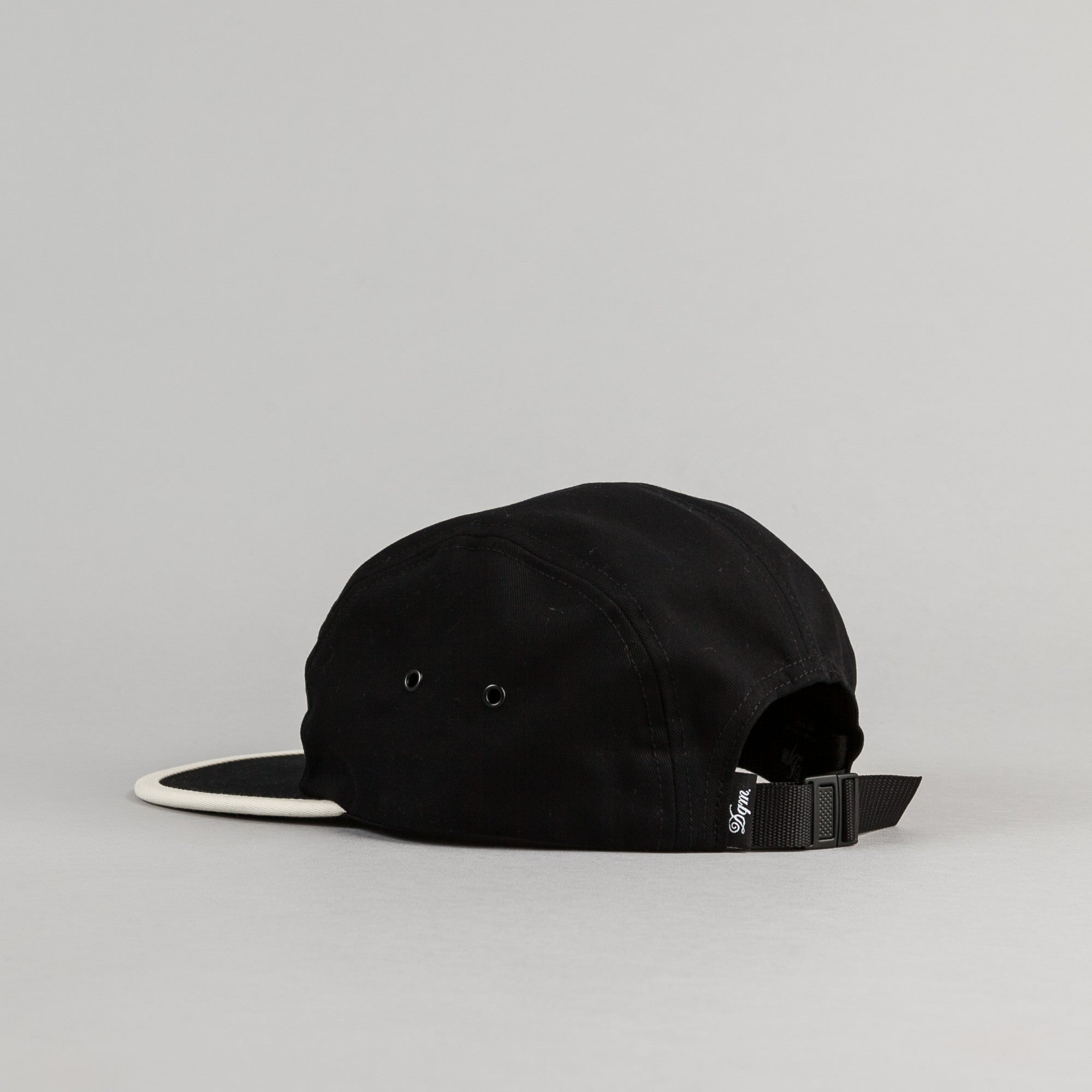 DQM Halcyon 5 Panel Camp Cap - Black