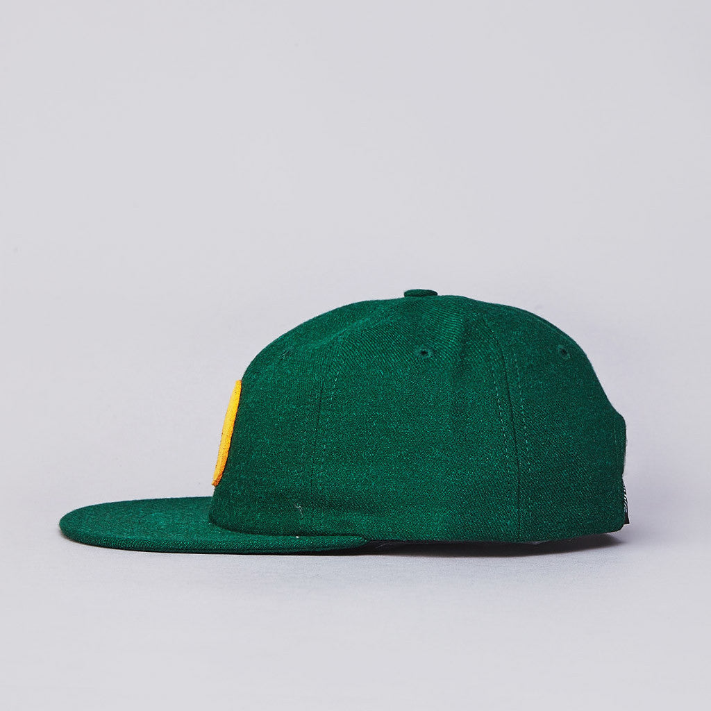 DQM Amboy 6 Panel Polo Cap Dark Green