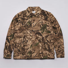 DQM Belfast Canvas Coaches Jacket Camouflage