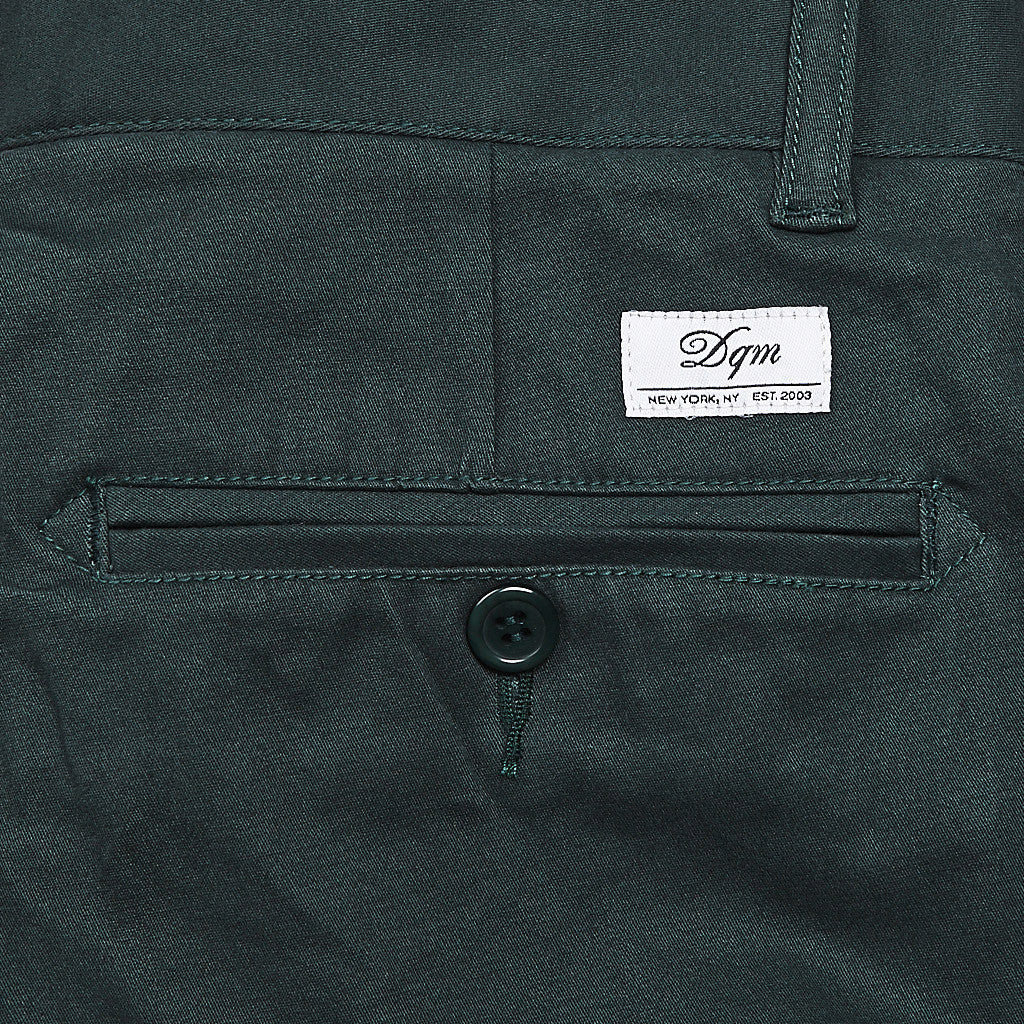 DQM Canyon Chino Pants Forest Green