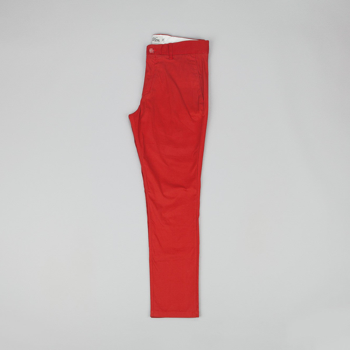 DQM Canyon Chino Trousers - Red