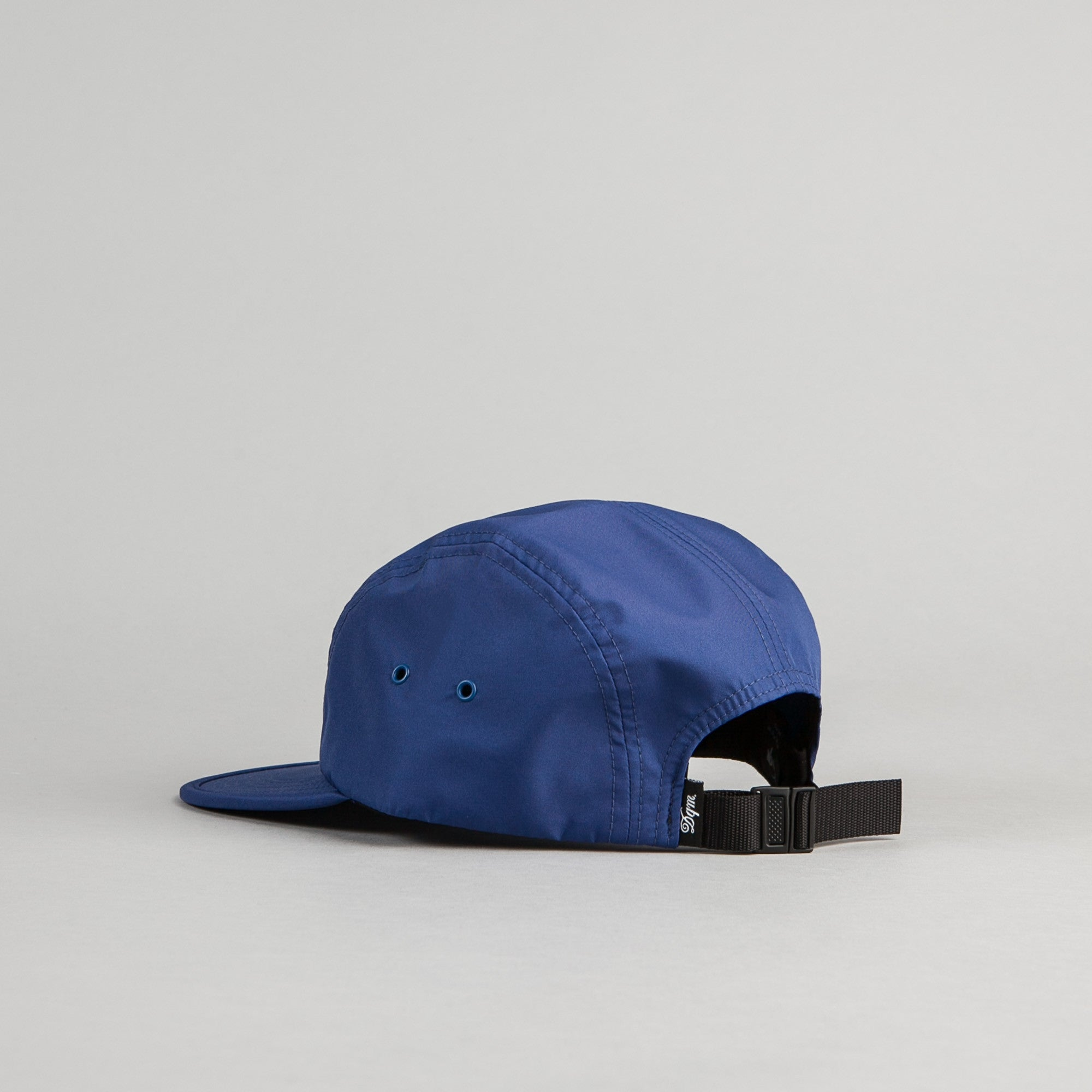 DQM Crushable Nylon Camp Cap - Navy