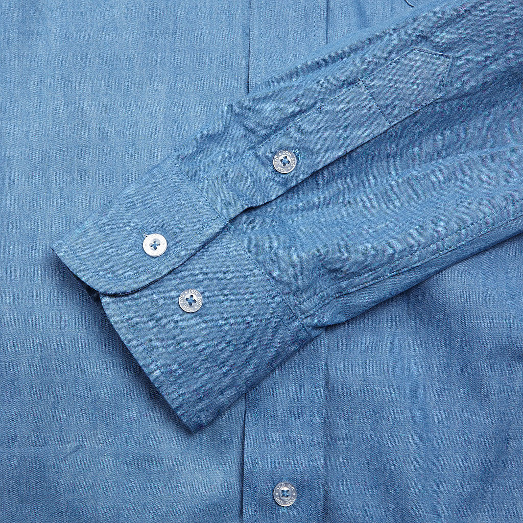 DQM F.M Denim Shirt Light Denim
