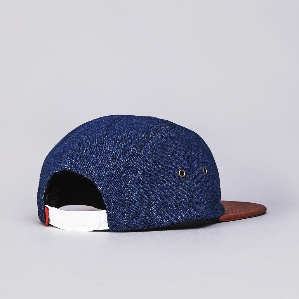 DQM Marsten 4 Panel Camp Cap Indigo