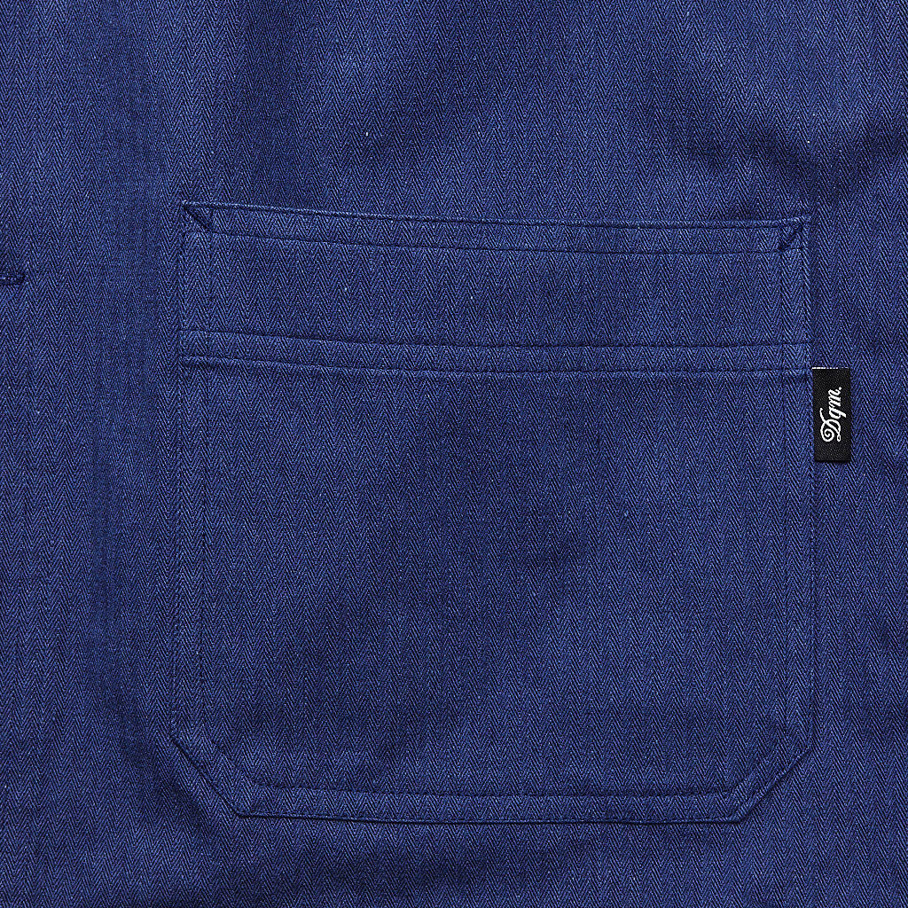 DQM Rennseler Work Shirt Light Navy