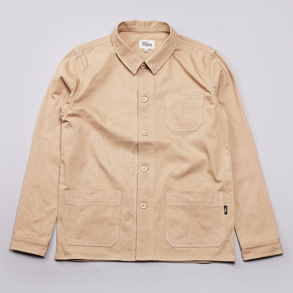 DQM Rennseler Work Shirt Tan