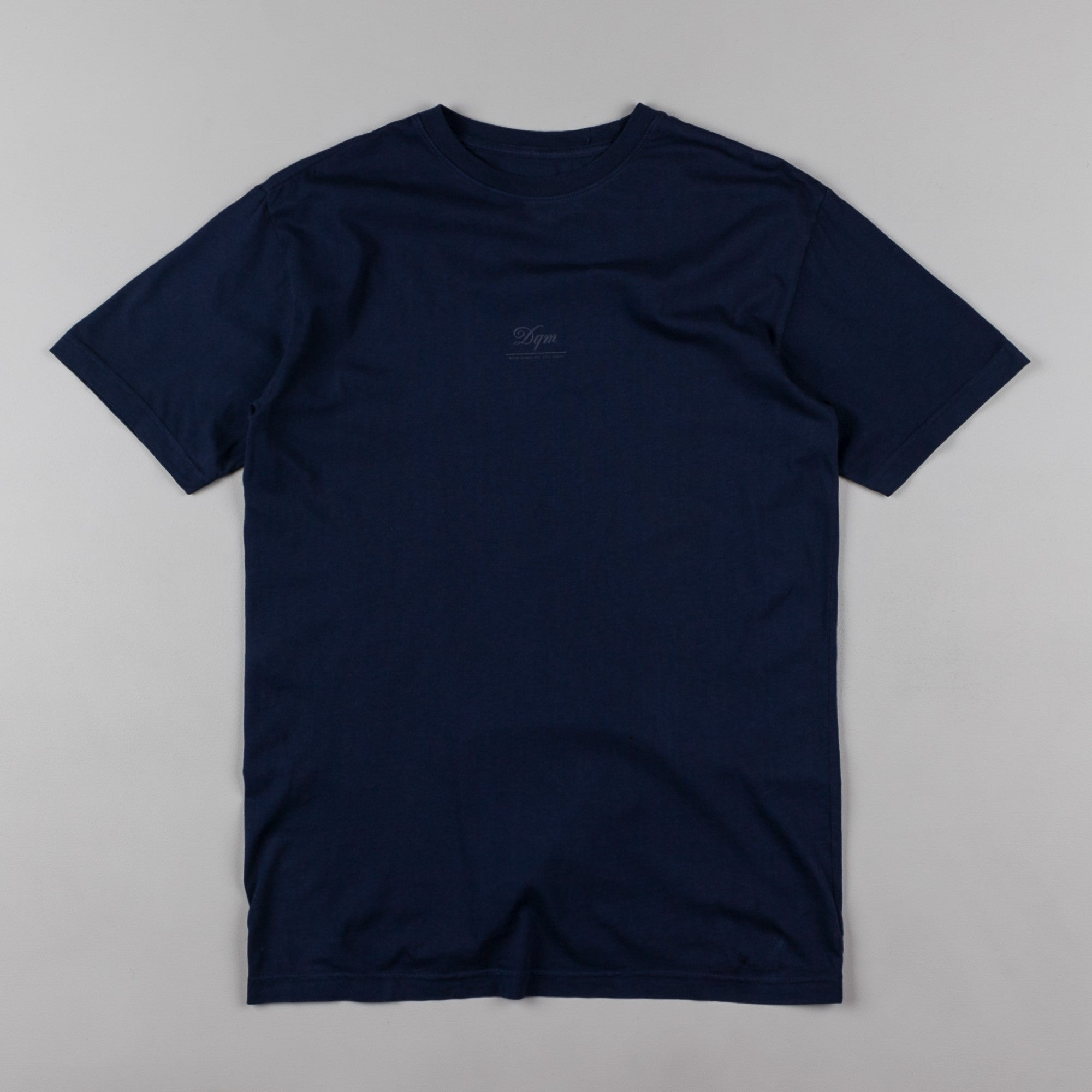 DQM Tiny Logo T-Shirt - Navy