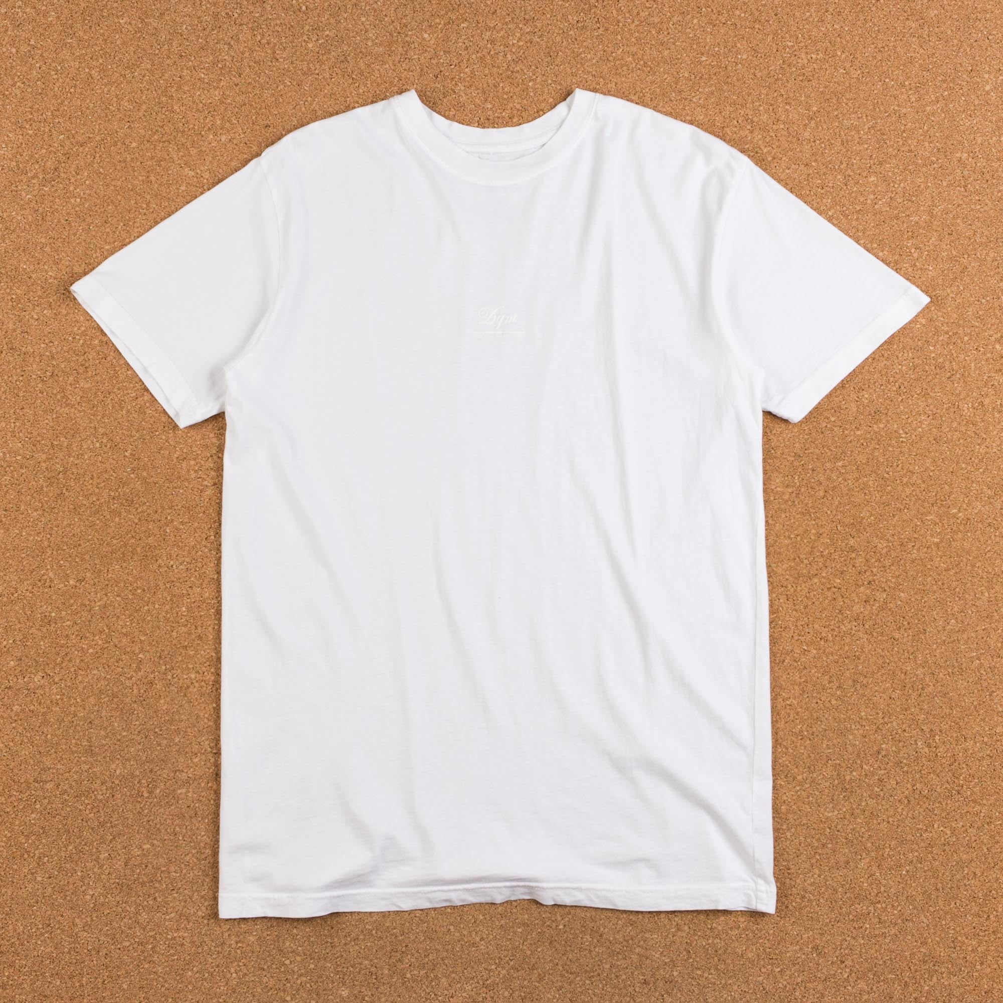 DQM Tiny Logo T-Shirt - White