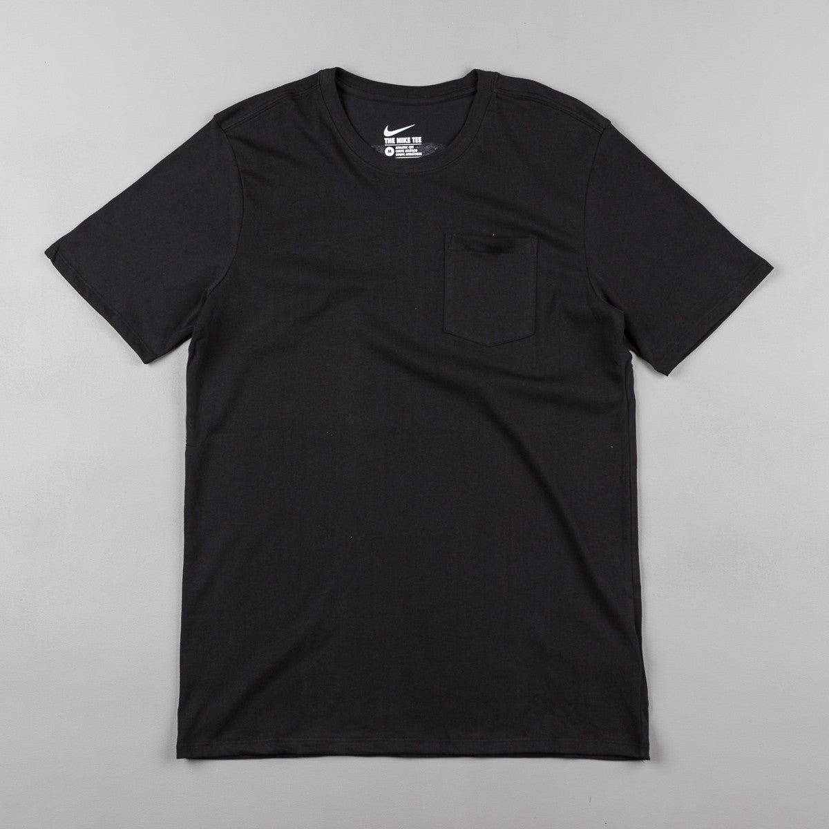 Nike SB Wave T-Shirt - Black / Black / White