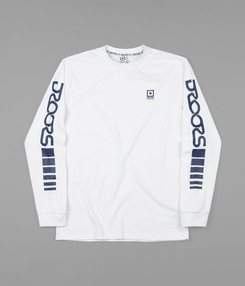 Droors Flare 43 Long Sleeve T-Shirt - Bright White