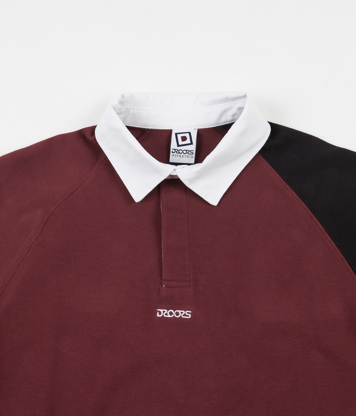 Droors Saxon Rugby Shirt - Wino
