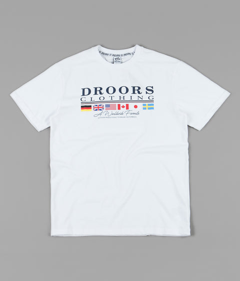 Droors Worldwide Favourite T-Shirt - Bright White
