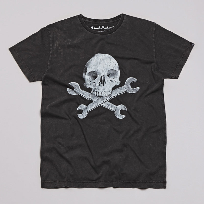 Deus Ex Machina Gert T Shirt Washed Black
