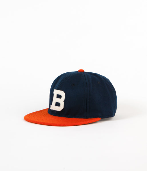 Ebbets Field Flannels Brooklyn Bushwicks 1949 Ballcap - Navy Wool