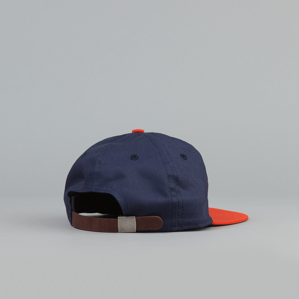 Ebbets Field Flannels Brooklyn Bushwicks Strapback Cap Navy / Orange