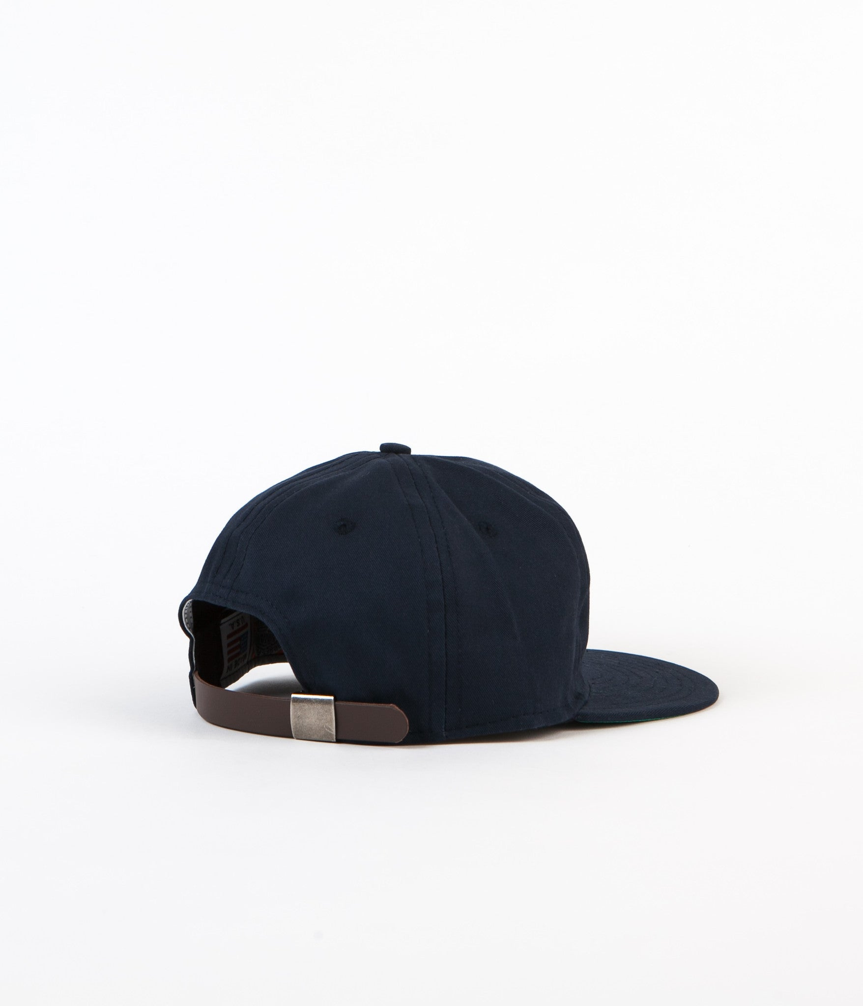 Ebbets Field Flannels Brushed Chino Twill 6 Panel Cap - Navy