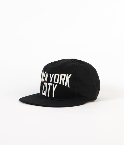 Ebbets Field Flannels New York City Lennon Cap - Black